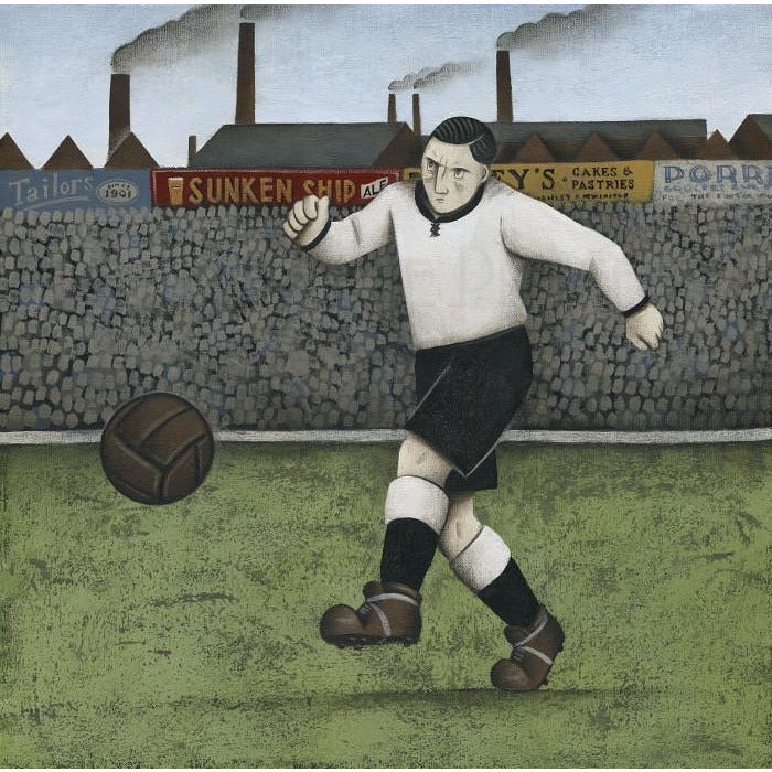 Port Vale Gift - A Port Vale Afternoon Ltd Edition Signed Football Print Ltd Edition Print Football Gift