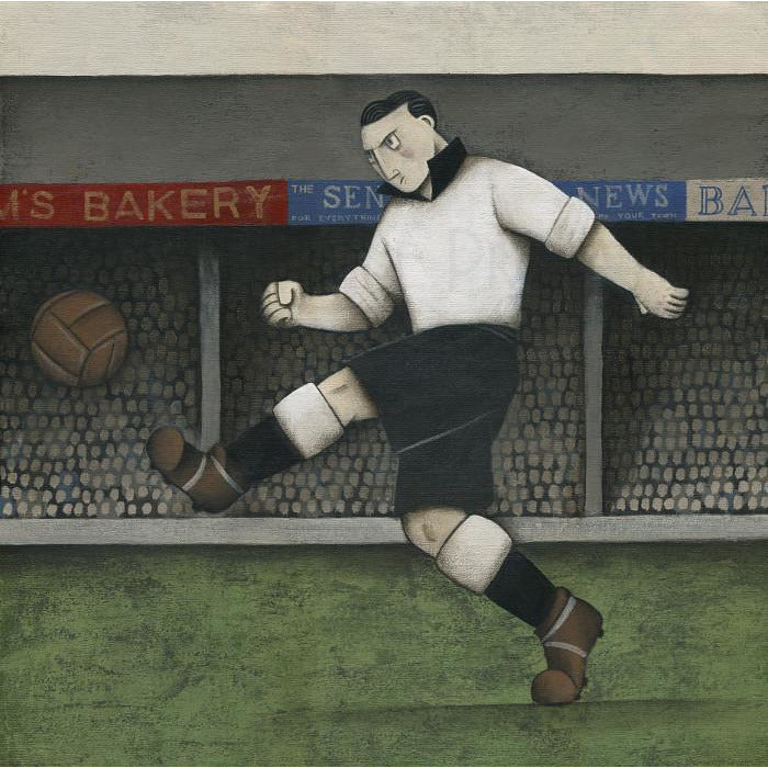 Port Vale Gift - A Vale Hero Past Ltd Edition Signed Football Print Ltd Edition Print Football Gift
