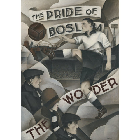 Port Vale Gift - Pride of Boslem Ltd Edition signed Football Print - BWSportsArt