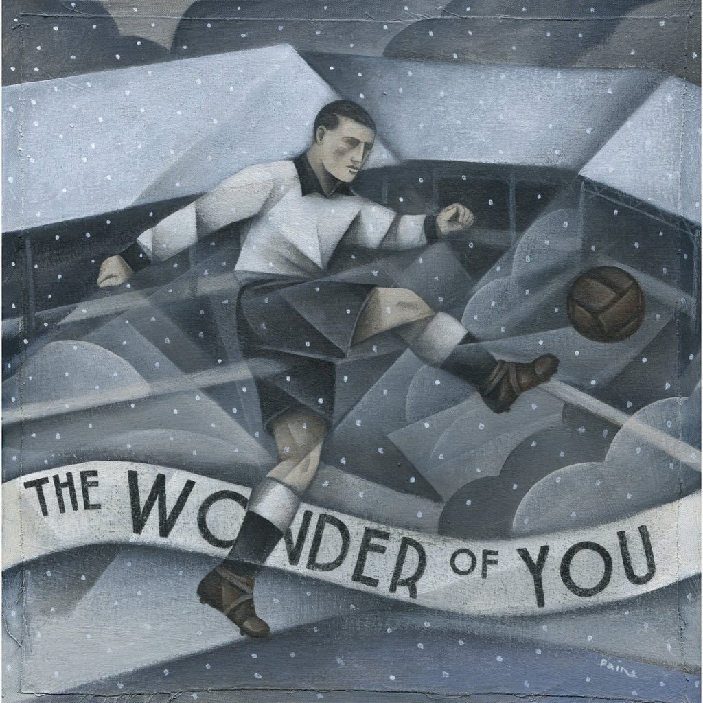 Port Vale Gift - The Wonder of You Ltd Edition signed football Print - BWSportsArt
