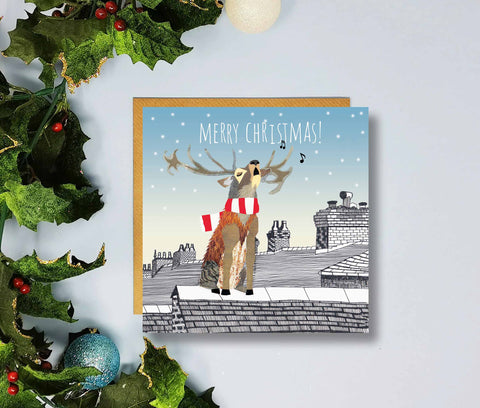 Leyton Orient Merry Christmas Cards by Flying Teaspoons