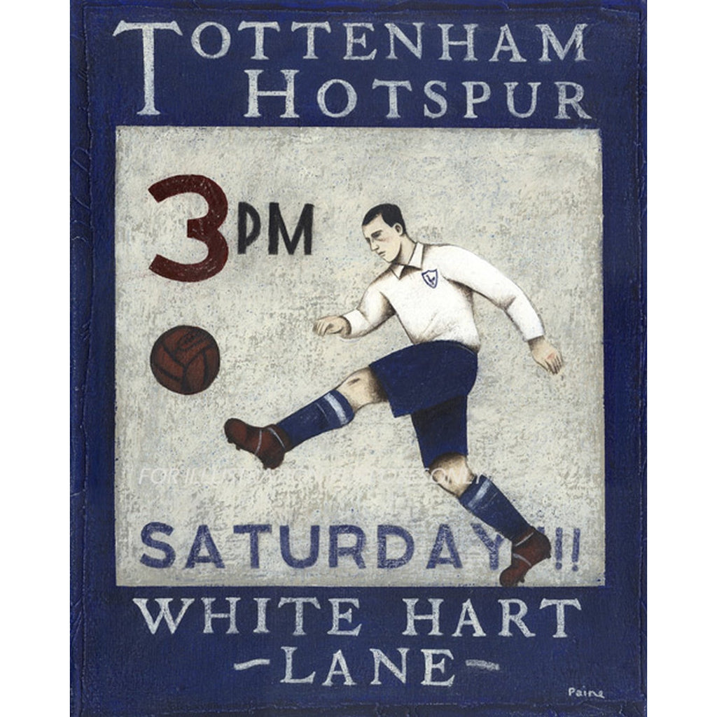 Saturday White Hart Lane Ltd Edition Print by Paine Proffitt | BWSportsArt