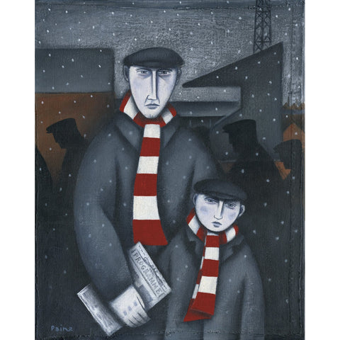 Stoke City Gift - Every Saturday Limited Edition Football Print by Paine Proffitt - BWSportsArt