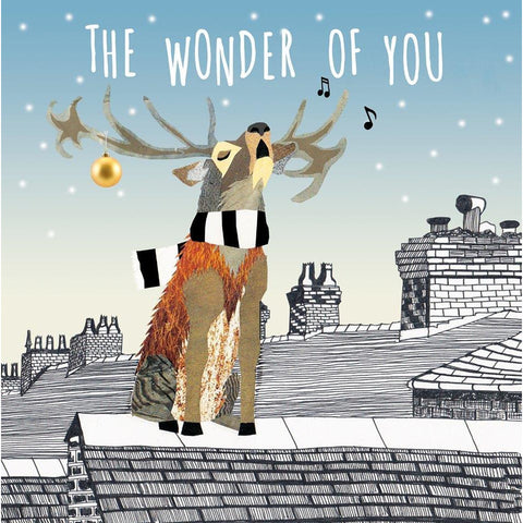 The Wonder of You Christmas Card Set Cards Football Gift