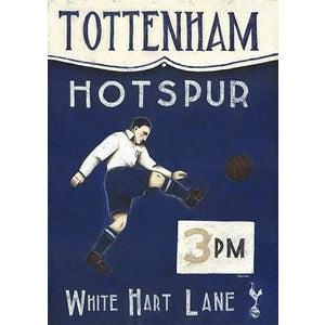 Tottenham Hotspur 3pm Artist Proof Print by Paine Proffitt - BWSportsArt