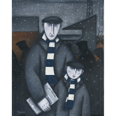 Tottenham Hotspur Every Saturday Ltd Edition Print by Paine Proffitt - BWSportsArt