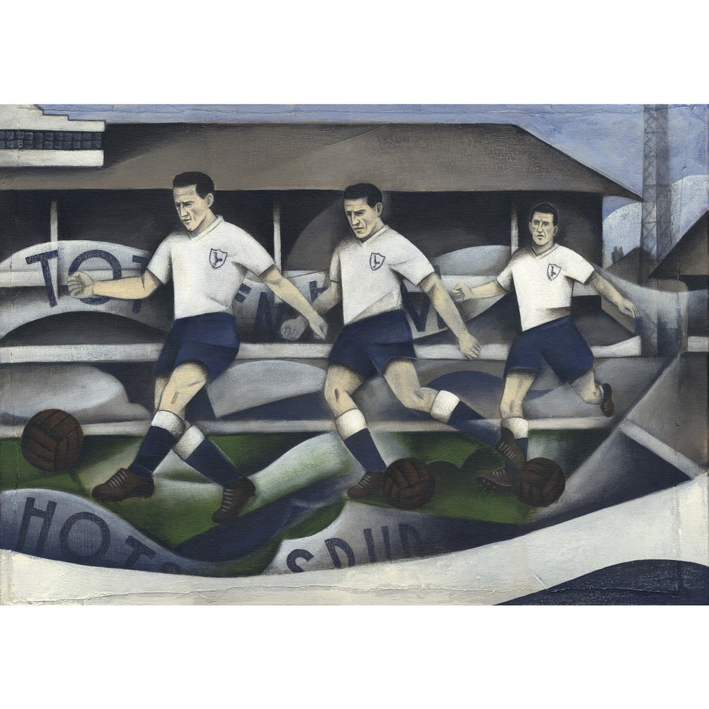 Tottenham Hotspur Gift - Spurs Past Ltd Edition Print by Paine Proffitt | BWSportsArt