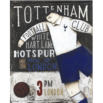 Tottenham Hotspur Ltd Edition Print by Paine Proffitt - BWSportsArt
