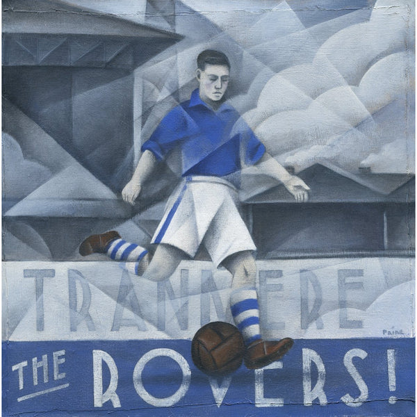Tranmere - Tranmere Rovers - Limited edition Print by Paine Proffitt - BWSportsArt