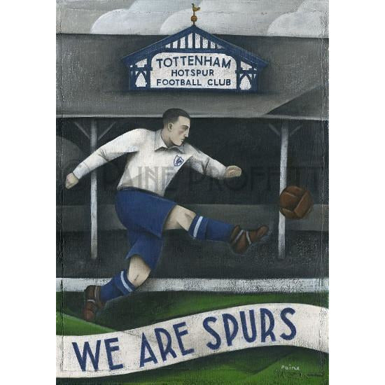 We Are Spurs I Ltd Edition Print by Paine Proffitt - BWSportsArt