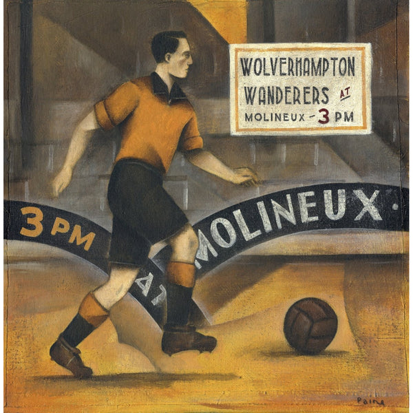 Wolves At Molineux - Ltd Edition Print by Paine Proffitt - BWSportsArt