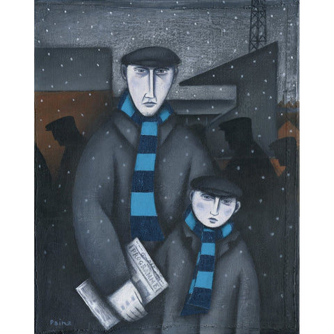 Wycombe Wanderers Every Saturday Ltd Edition Print by Paine Proffitt Ltd Edition Print Football Gift