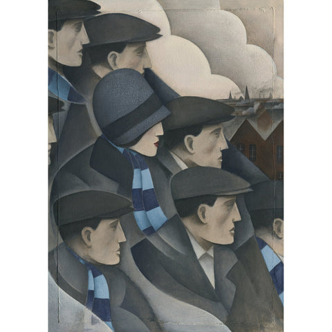 Wycombe Wanderers The Crowd Ltd Edition Print by Paine Proffitt | BWSportsArt