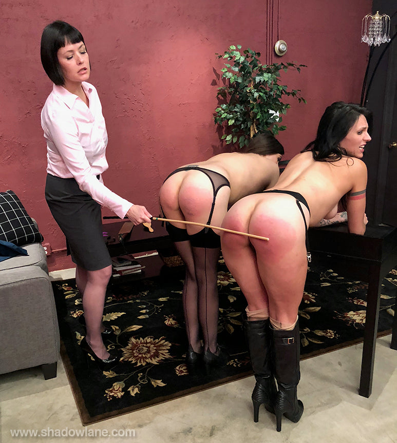 Story wife gets bare ass spanking at her work party