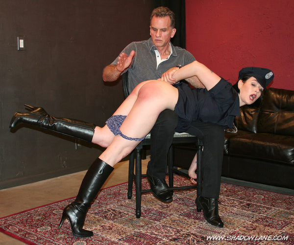 Over her leg husband spank