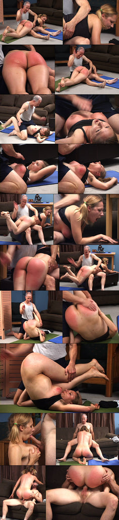 Tantric sex and spanking