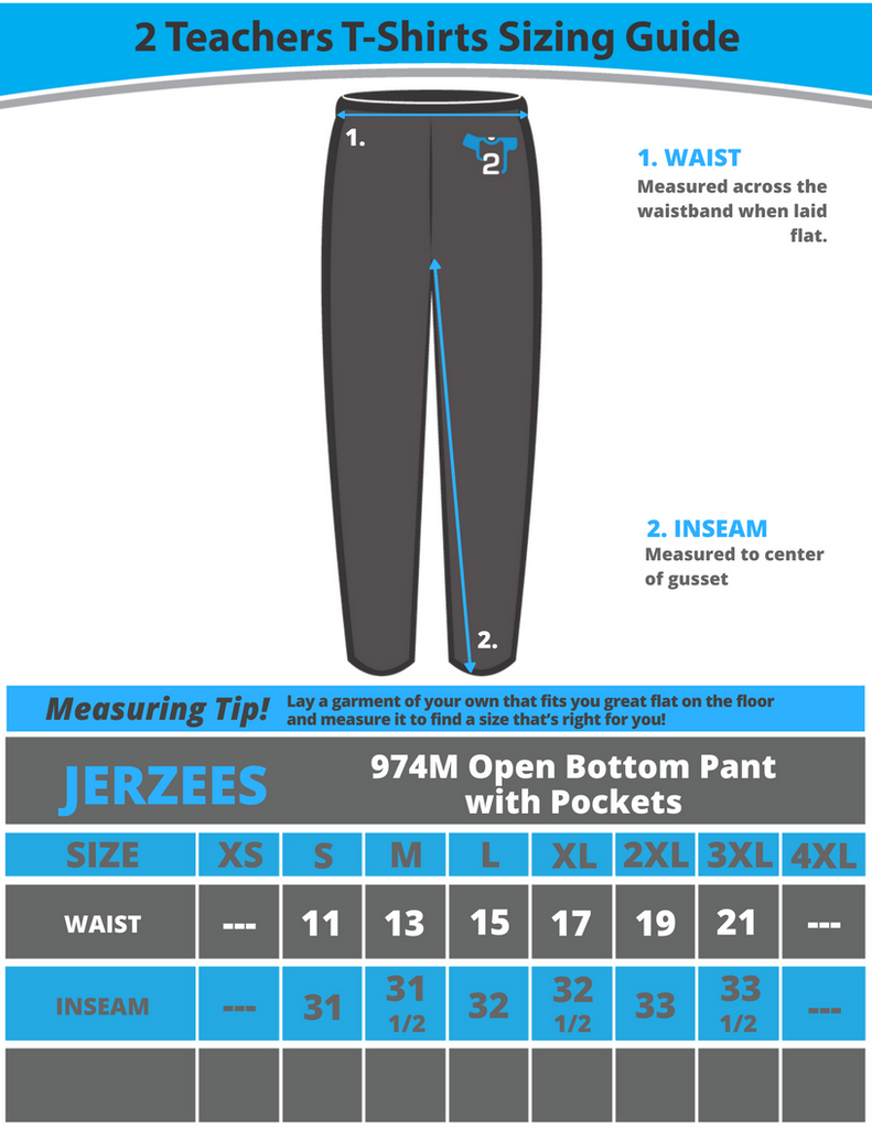 JERZEES® NuBlend® Open Bottom Pant with Pockets (974MP/974MRP)