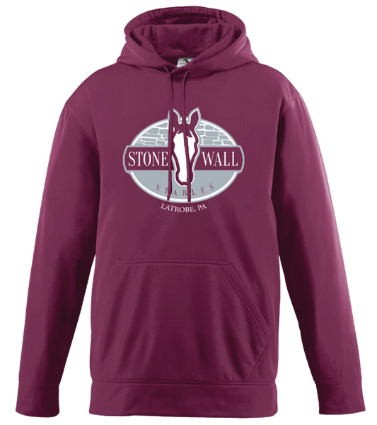 Stone Wall Stables Augusta Fleece Hooded Sweatshirt