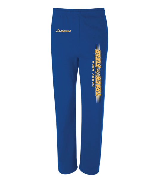 DAMS Track 2020 Jerzees® NuBlend® Open Bottom Sweatpants with Pockets