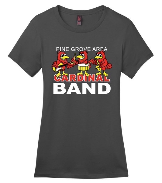 PGA Cardinal Band District Made® Perfect Weight® Crew Tee - Adult & Ladies