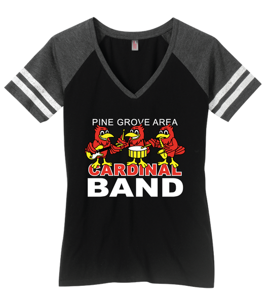 PGA Cardinal Band District Made® Ladies Game V-Neck Tee