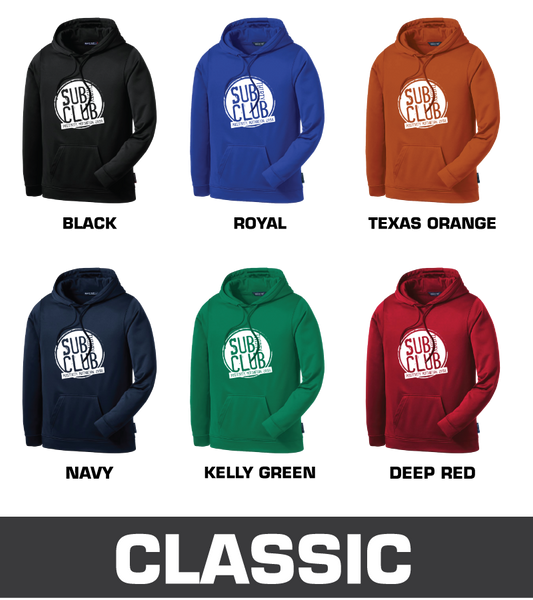 Sub 30 Club Sport-Tek® Sport-Wick® Fleece Hooded Pullover