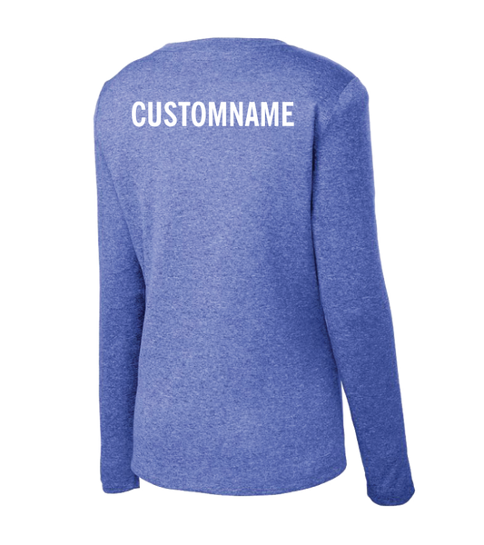 Sport-Tek® Ladies Long Sleeve Heather Contender™ Tee