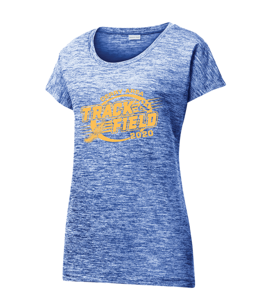 DAMS Track 2020 Sport-Tek® Ladies PosiCharge® Electric Heather Sporty Tee - Adult & Ladies Sizes