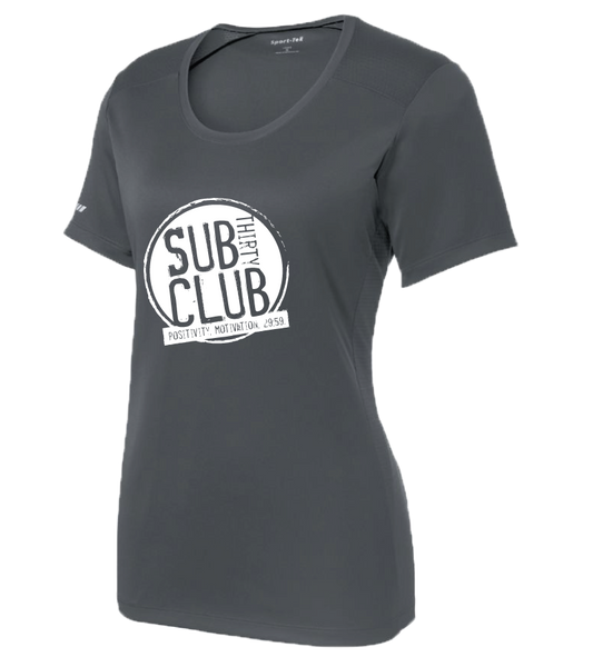 Sub 30 Club Sport-Tek® Ladies PosiCharge® Elevate Tee