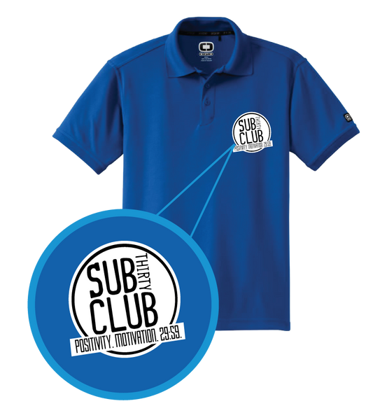 Sub 30 Club Embroidered OGIO® Caliber 2.0 Polo