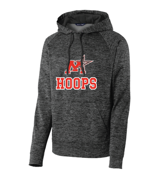 Monticello Basketball Sport-Tek® PosiCharge® Electric Heather Fleece Hooded Pullover