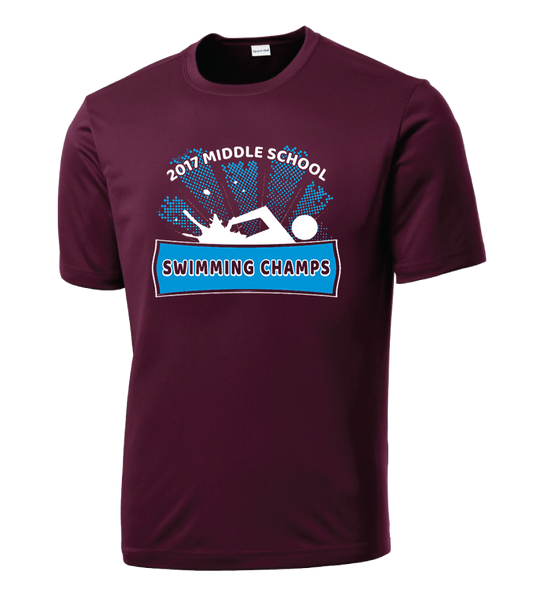 MS Swim Champs 2017 Sport-Tek® PosiCharge® Competitor™ Tee