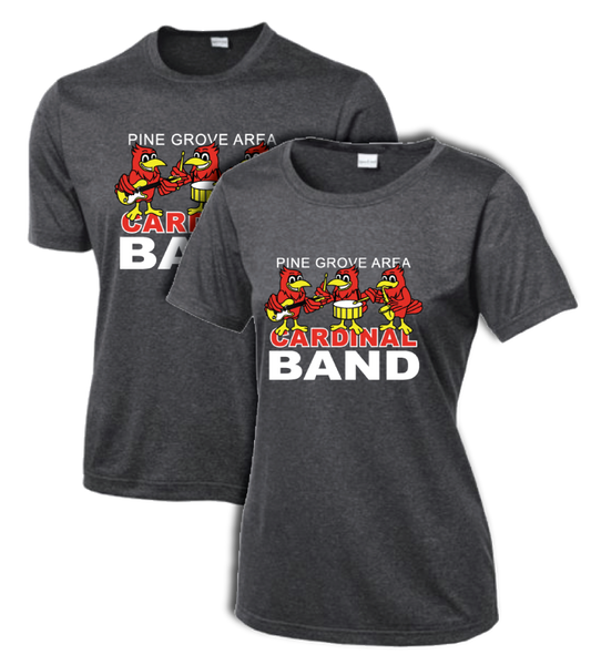 PGA Cardinal Band Sport-Tek® Heather Contender™ Tee - Adult & Ladies