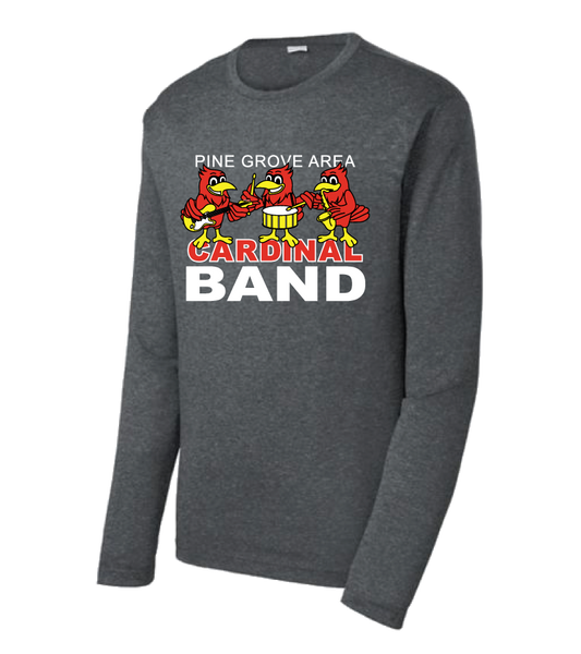 PGA Cardinal Band Sport-Tek® Long Sleeve Heather Contender™ Tee - Adult & Ladies