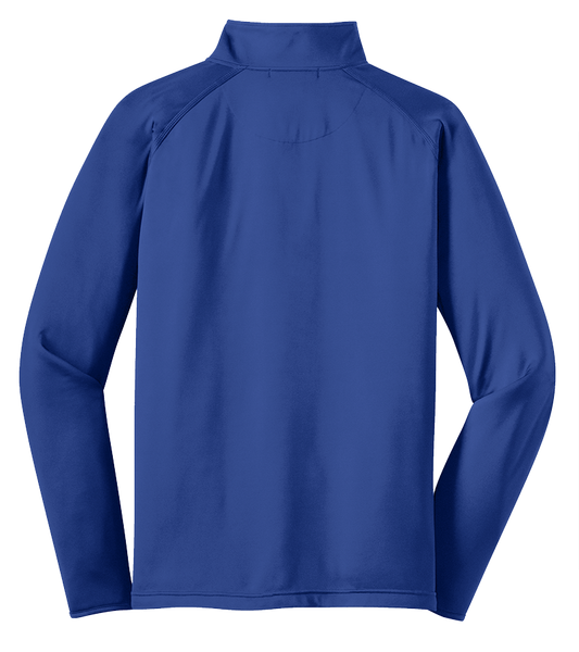 DAMS Track 2019 Embroidered Sport-Tek® Sport-Wick® Stretch 1/2-Zip Pullover