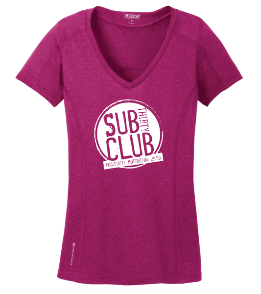 Sub 30 Club OGIO® ENDURANCE Ladies Pulse V-Neck