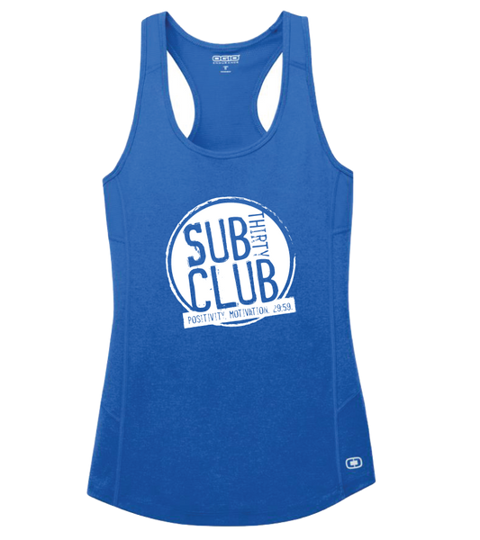 Sub 30 Club OGIO® ENDURANCE Ladies Racerback Pulse Tank