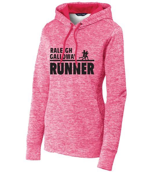Raleigh Galloway Sport-Tek® Ladies PosiCharge® Electric Heather Fleece Hooded Pullover