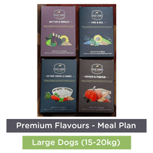 Doggie Dabbas Fresh Meals - Meal Plan for Large Dogs (15-20kg) - Premium Flavours