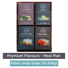 Doggie Dabbas Fresh Meals - Meal Plan for Extra Large Dogs (25-32kg) - Premium Flavours