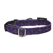 Petsy Bandhani Dog Collar - Purple