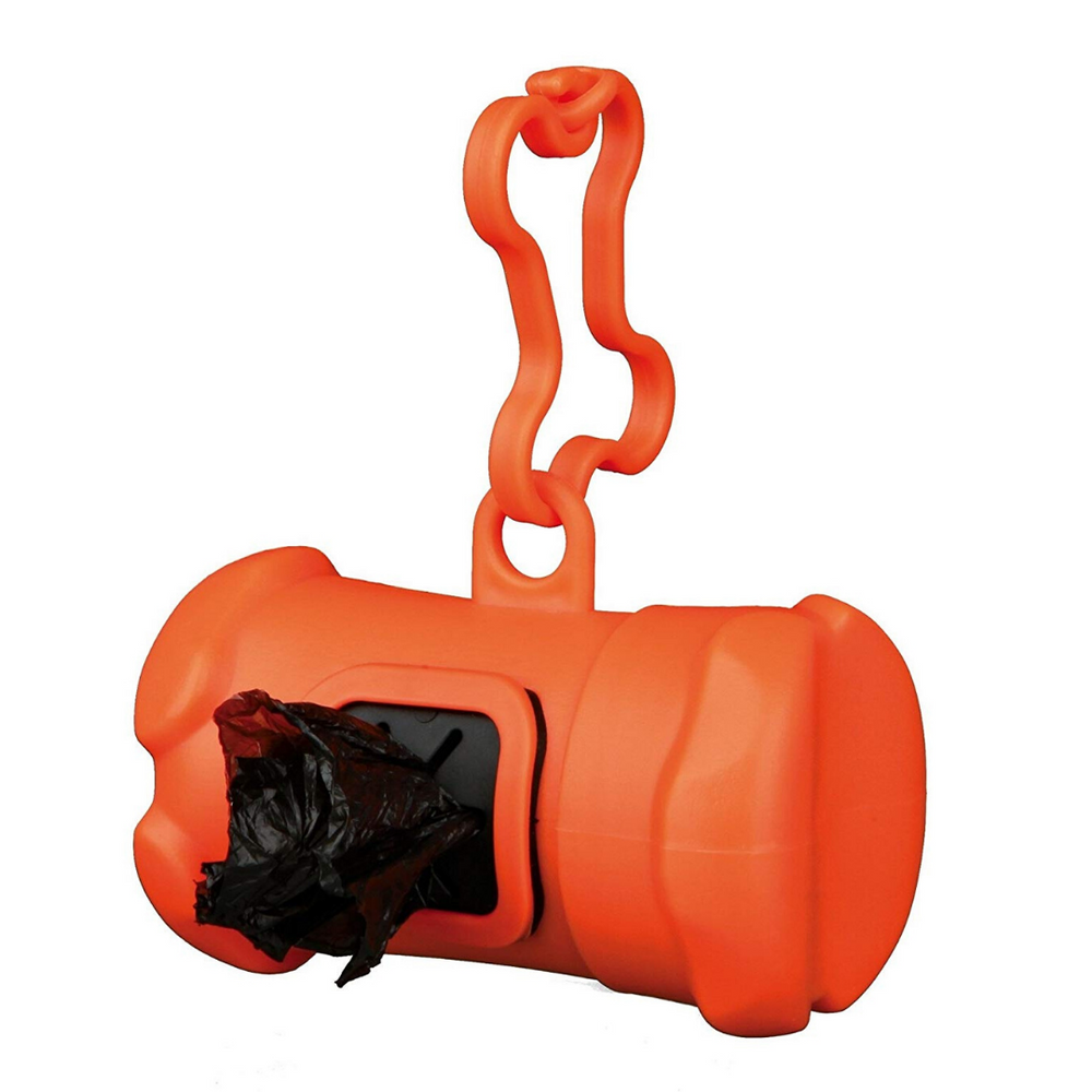 Trixie Dog Dirt/Poop Bag Dispenser + 15 Bags