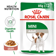 Royal Canin Wet Dog Food - Mini Adult (12 x 85g Pouches)