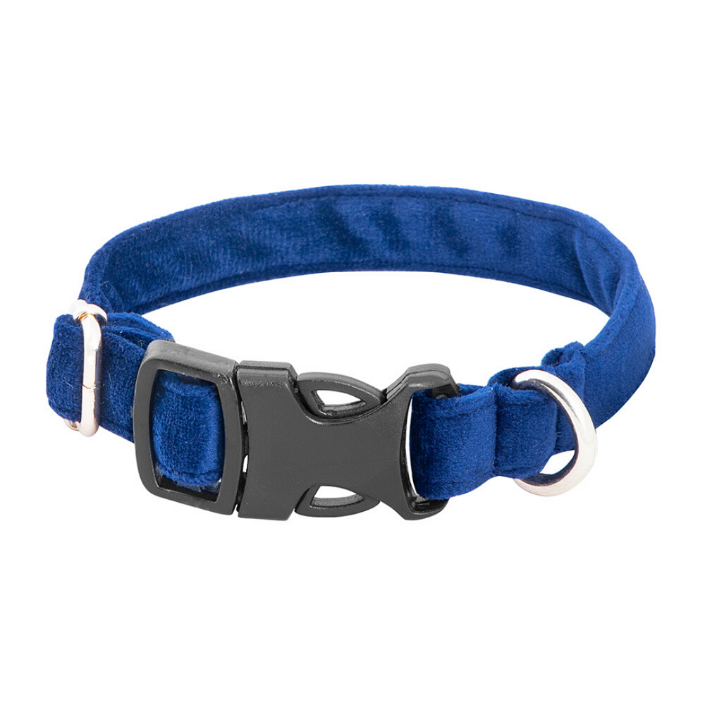 Petsy Amaya Cat Collar - Navy Blue