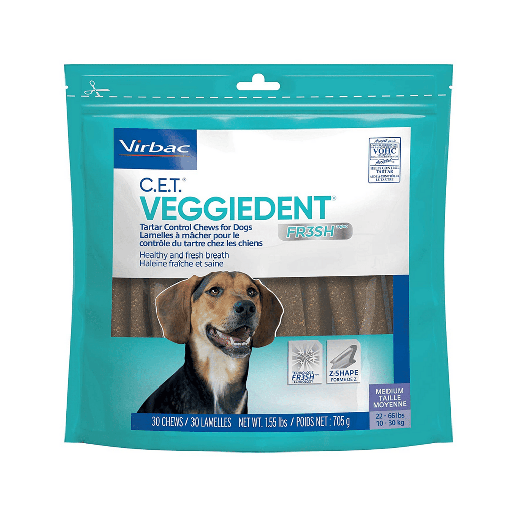 Virbac Veggiedent Dental Chew For Dogs