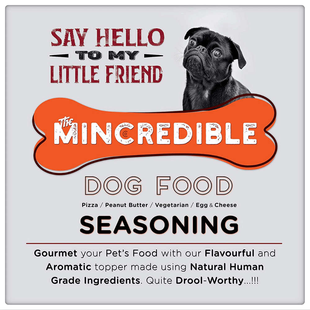 Mincredible Dog Food Seasoning Flavour - Pizza