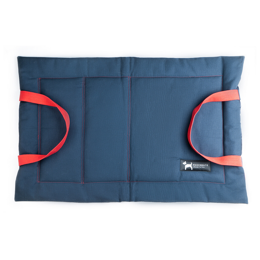 PoochMate Quilted Mat - Navy