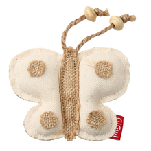 GiGwi Cat Toys - Eco Line Butterfly 'Catch & Scratch' with catnip Canvas