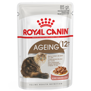 Royal Canin Cat Food - Ageing +12 (85g x 12 Pouches)