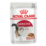 Royal Canin Cat Food - Instinctive Gravy (85g x 12 Pouches)